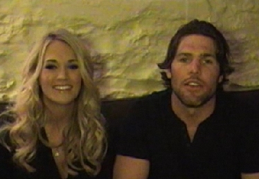 Carrie Underwood and Mike Fisher for Do It For Daron